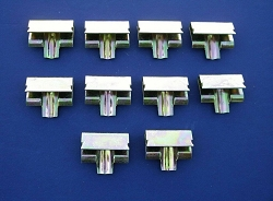 1955 1956 1957 Chevy Convertible Top Well Surround Moulding Clips