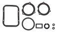 1957 Chevy Deluxe Heater Seal Kit