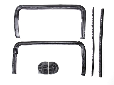 1955 1956 1957 Chevy Sedan & Wagon Vent Window Seals