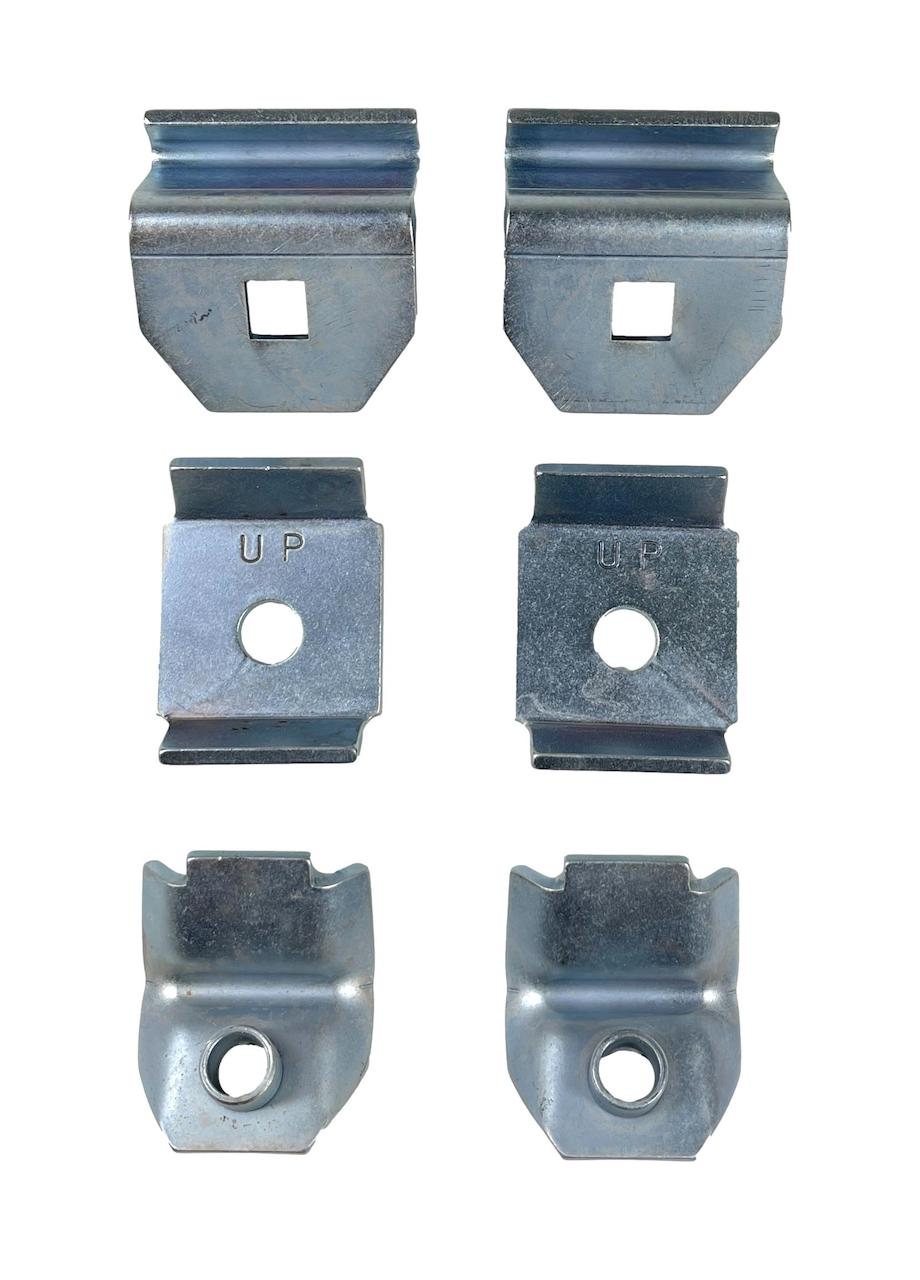 1957 Chevy Accessory Bumper Guard Hardware Kit