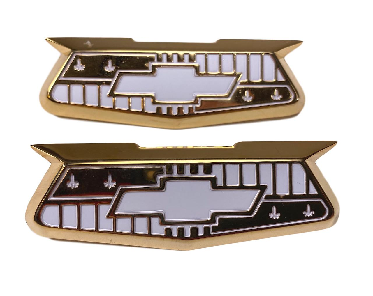 1955 1956 1957 Chevy Bel Air Crest Emblems Danchuk Brand