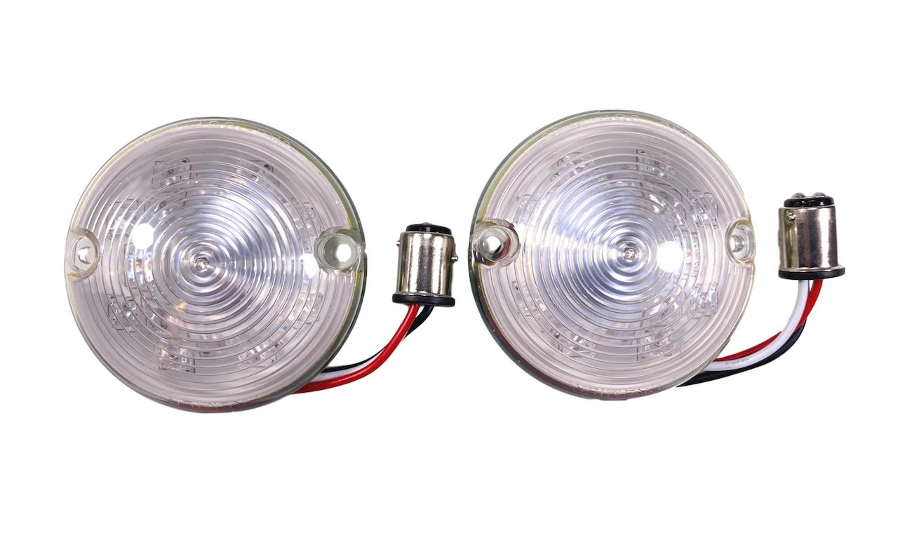 1957 Chevy Clear LED Parklight Lenses