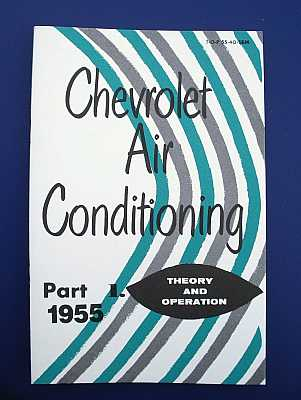 1955 Chevy Air Conditioning Maintenance Book Set
