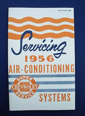1956 Chevy Air Conditioning Service Manual