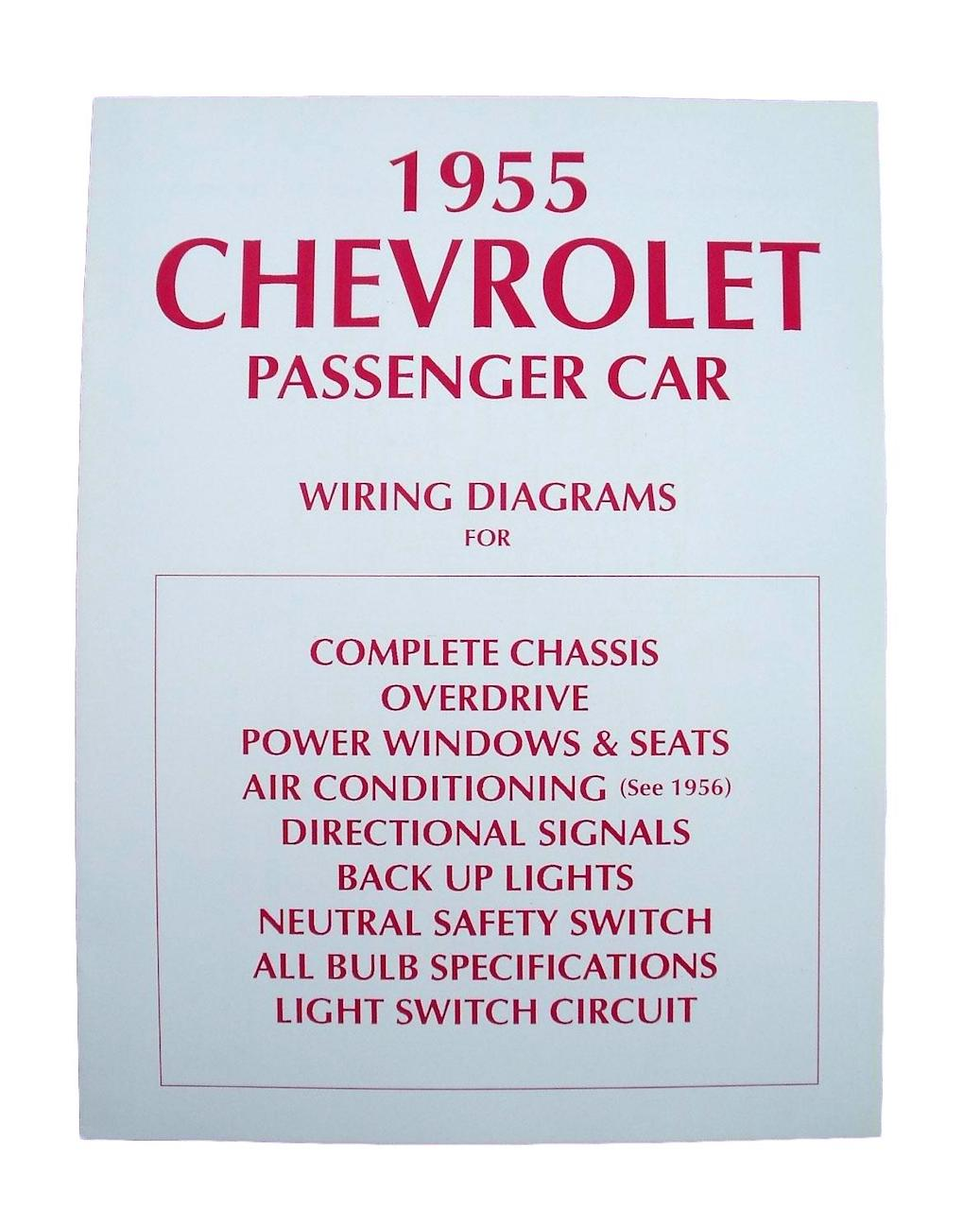 1955 Chevy Wiring Diagram