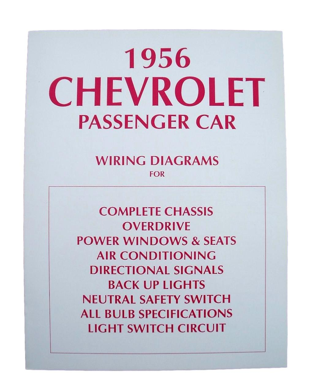1956 Chevy Wiring Diagram