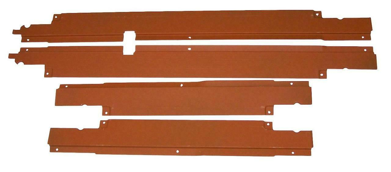1955 1956 1957 Chevy 4-Door Sedan & Wagon Wire Harness Door Sill Covers