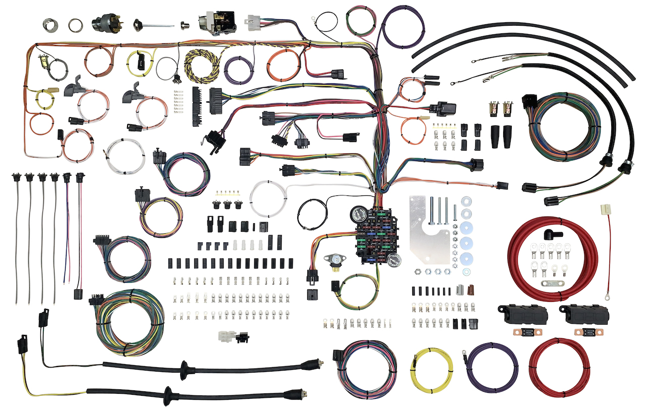 complete wire harnesses for 1955 & 1956 chevy | mutton hollow chevys  mutton hollow chevys