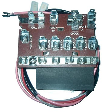 1955-1957 Chevy Fuse Box | Mutton Hollow ChevyMutton Hollow Chevys