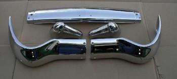 1956 Chevy Front Bumper 5 Pice Set