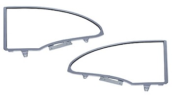 1955 1956 1957 Chevy Hardtop Quarter Window Frames BEST QUALITY FRAMES