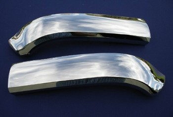 1957 Chevy Hood Bar Extensions Pair