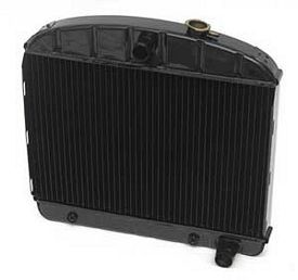 1955 1956 Chevy Radiator 6-Cyl. Hi-Efficiency 4-Row
