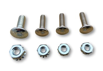 1957 Chevy Dash Speaker Grille Mounting Stud Set