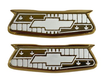 1955 1956 Chevy Bel Air Crest Emblems