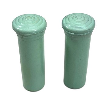1955 1956 1957 Chevy Door Lock Knobs Pair Light Green